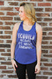 Tequila Tank Darling Custom Designs