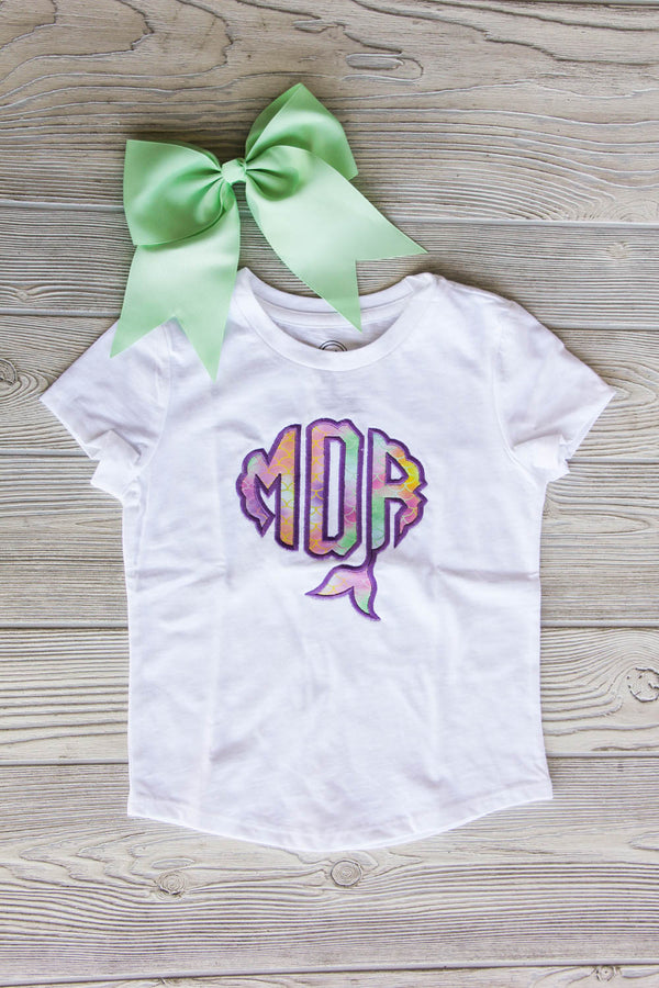Mermaid Monogram Shirt