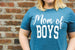 Mom of Boys Shirt Darling Custom Designs