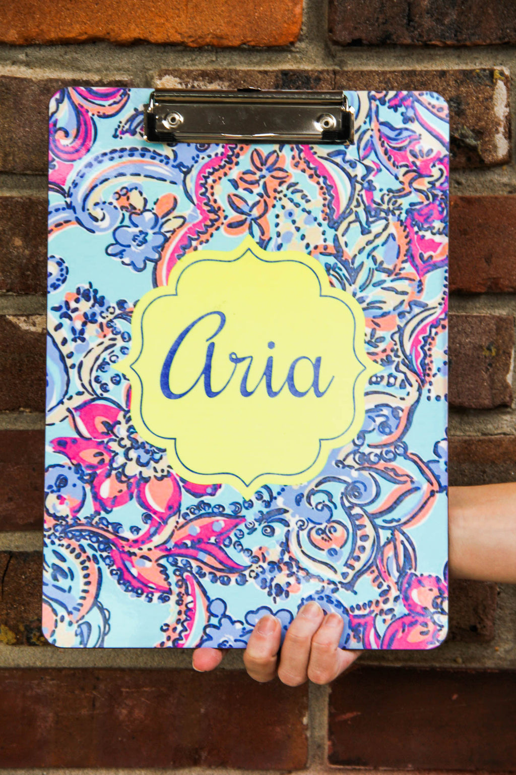 Lilly Pulitzer Inspired Clipboard (Collection 2) Darling Custom Designs Pattern 16