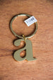 Initially Yours Keyrings- Gold