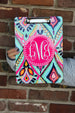Lilly Pulitzer Inspired Clipboard (Collection 1) Darling Custom Designs