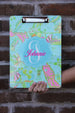 Lilly Pulitzer Inspired Clipboard (Collection 1) 9x12.5