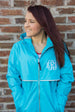 Charles River Rain Jacket w/ Monogram- Fall Colors WaveCharles River Rain Jacket w/ Monogram- Fall Colors