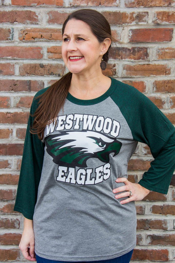 Westwood Eagles Baseball Tee