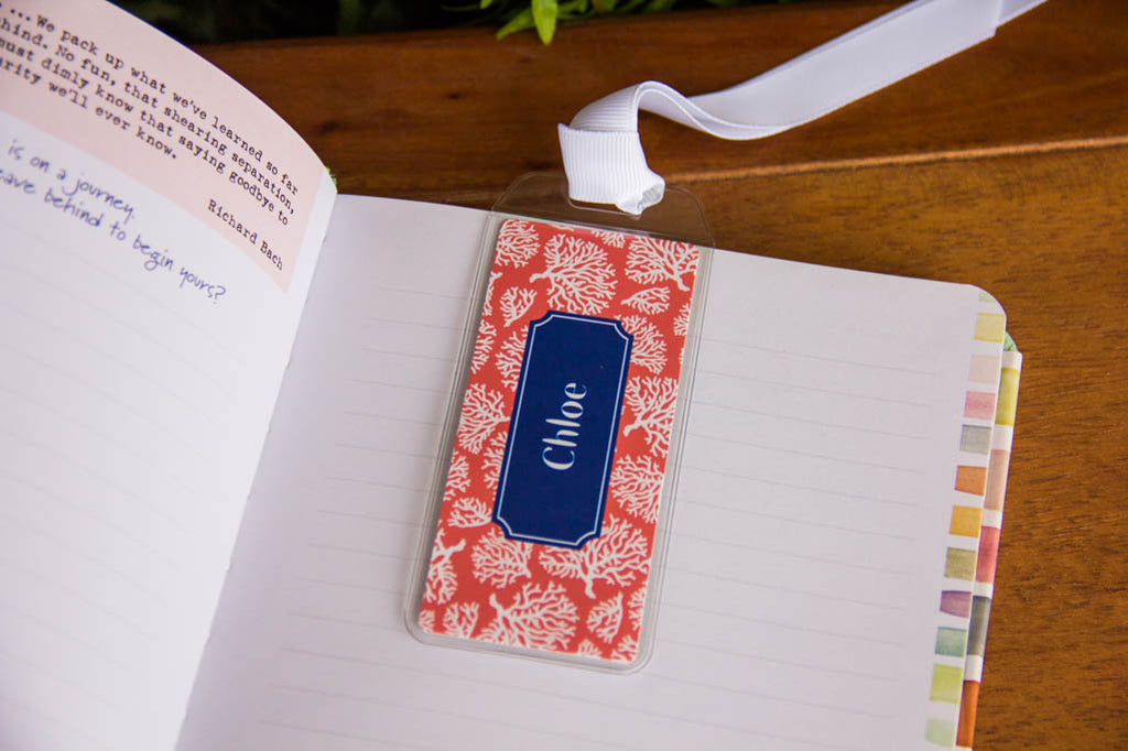 Bookmarks w/ Personalization Paparte