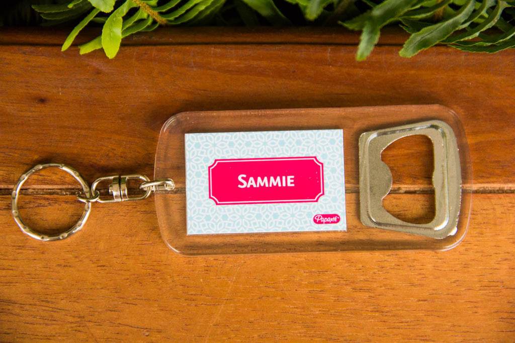 Bottle Opener w/ Personalization Darling Custom Designs