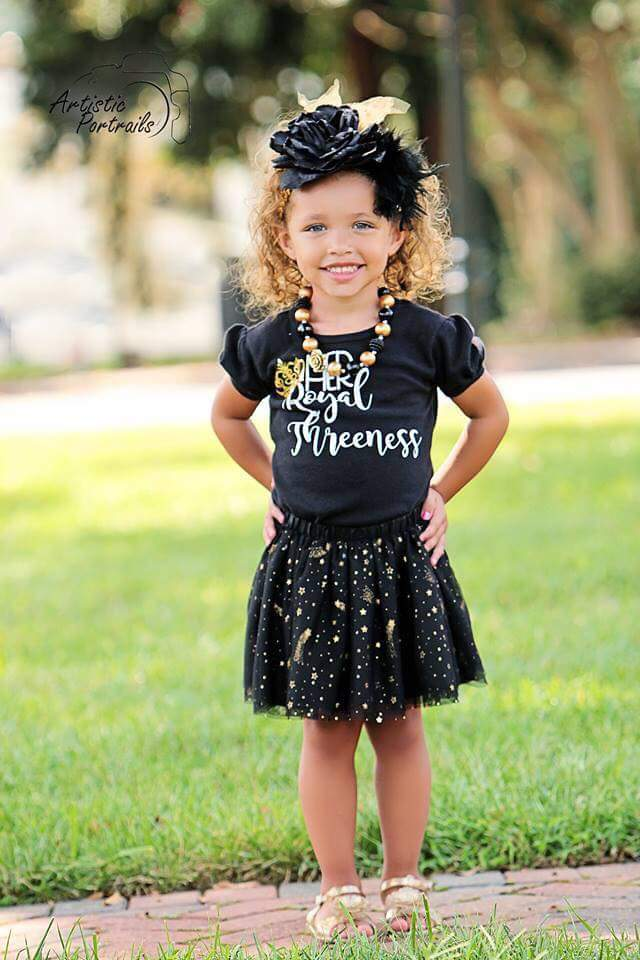 Her Royal Threeness Birthday Tee