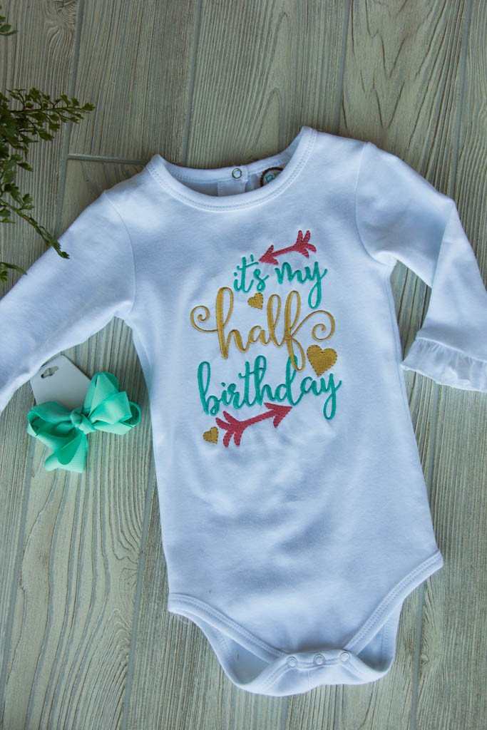 Half Birthday Outfit Set