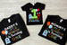 Monster Birthday Shirts for Entire Family Darling Custom Designs