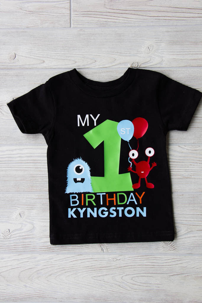 Monster Birthday Shirts for Entire Family