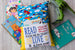Boys Book Pillow w/ Children's Book