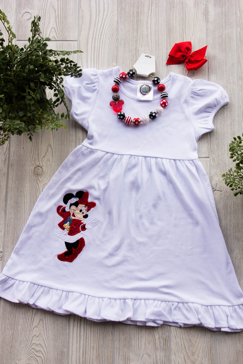 Minnie Mouse Ruffled Dress