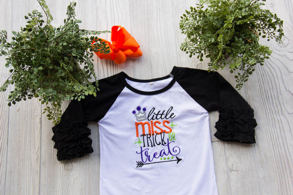 Little Miss Trick or Treat Tee