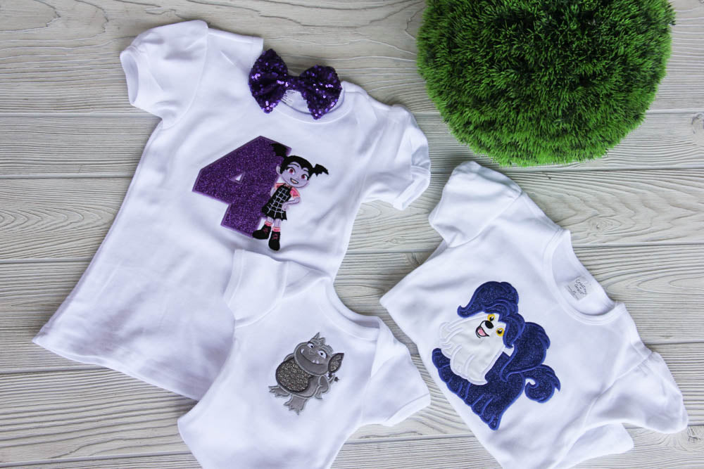 Vampirina Sibling Birthday Shirts