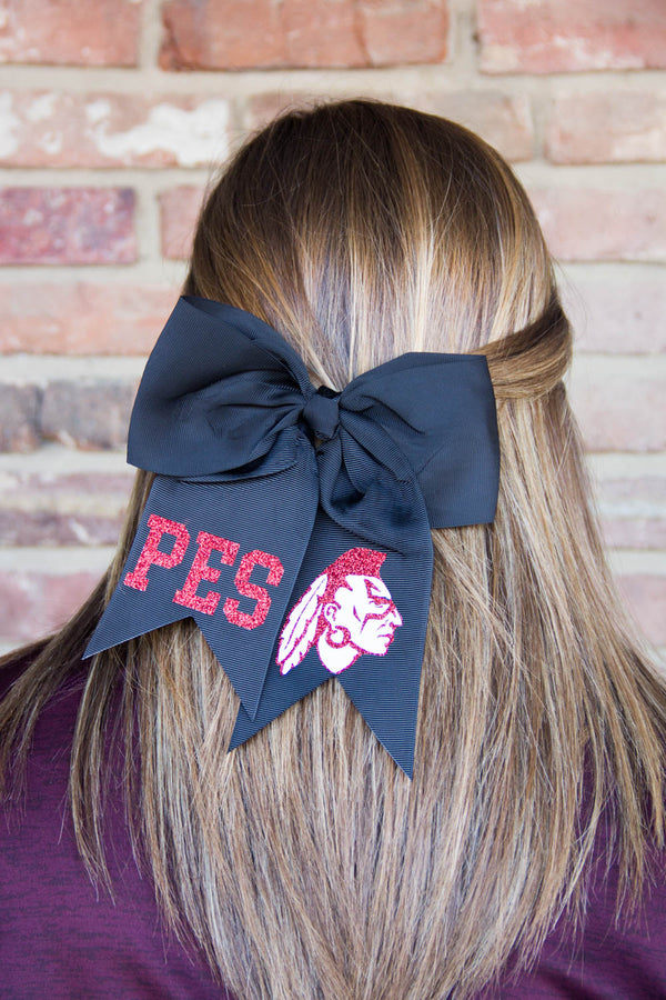 Puxico Elementary School Cheer Bow