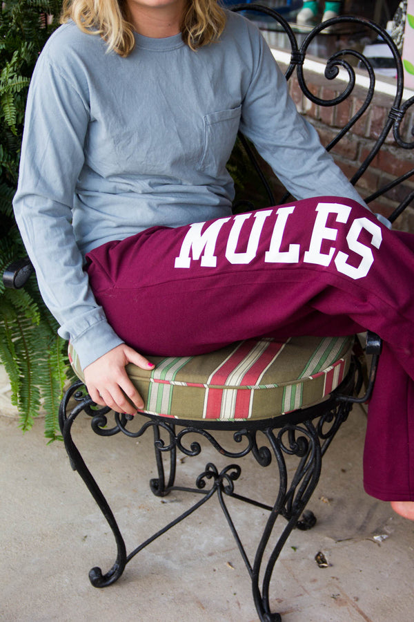 Mules Sweatpants