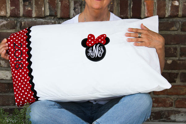 Disney Autograph Pillowcase - Disney Keepsake