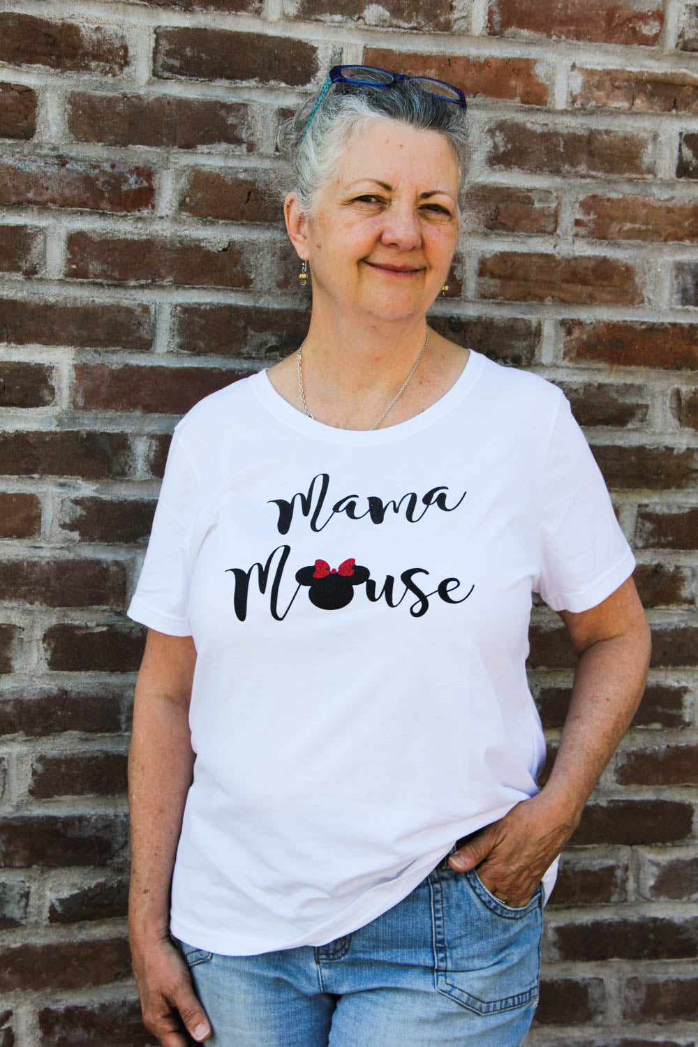 Mama Mouse Minnie Disney Tee