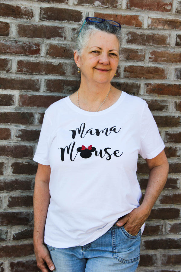 Mama Mouse Minnie Disney Tee Darling Custom Designs