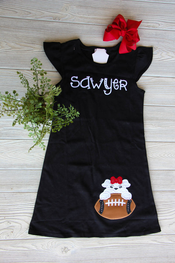 Girls Football Flutter Dress