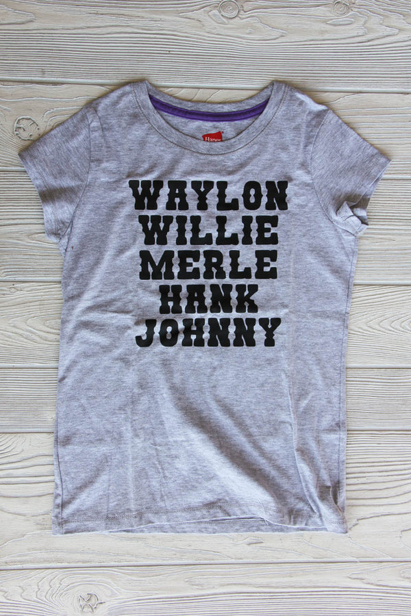 Country Music Girls Tee