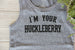 I'm Your Huckleberry - Boys YOUTH Tank