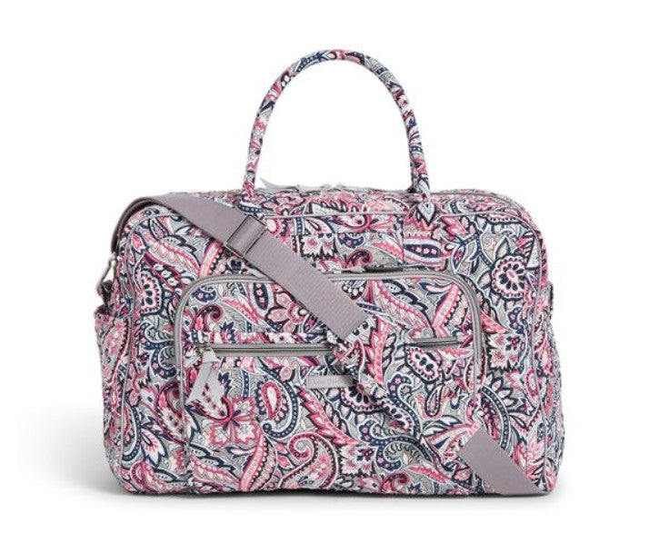 Iconic Weekender Travel Bag Gramercy Paisley