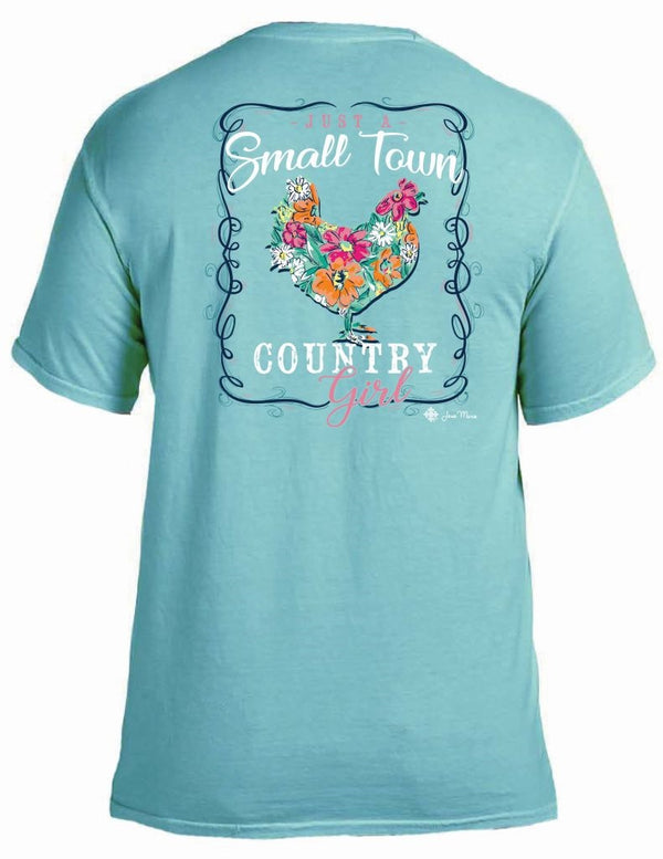 Jane Marie Just A Small Town Country Girl T-shirt JM2498T