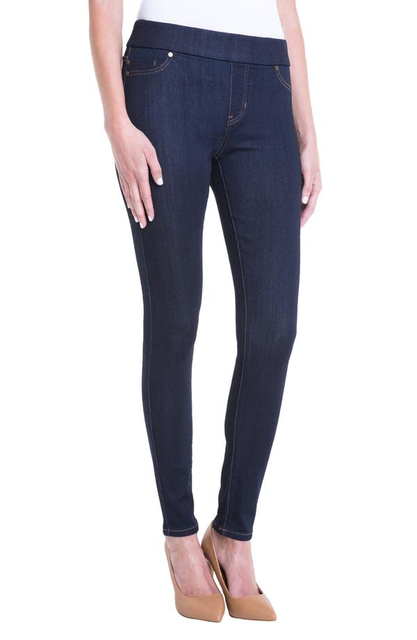 Liverpool Jeans Sienna Pull On Ankle Indigo Wash