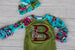 Newborn Gown w/ Name & Initial