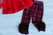 Buffalo Plaid Outfit Set w/ Name