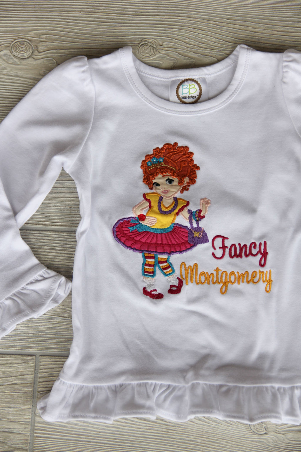 Fancy Nancy Ruffle Tee