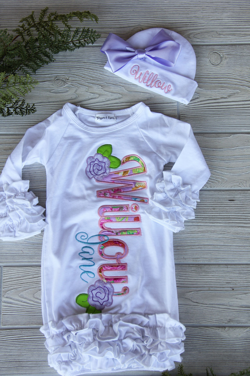 Take Home Baby Gown - Girls