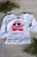 Girls Valentine Long Sleeve Shirt Darling Custom Designs