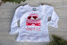 Girls Valentine Long Sleeve Shirt