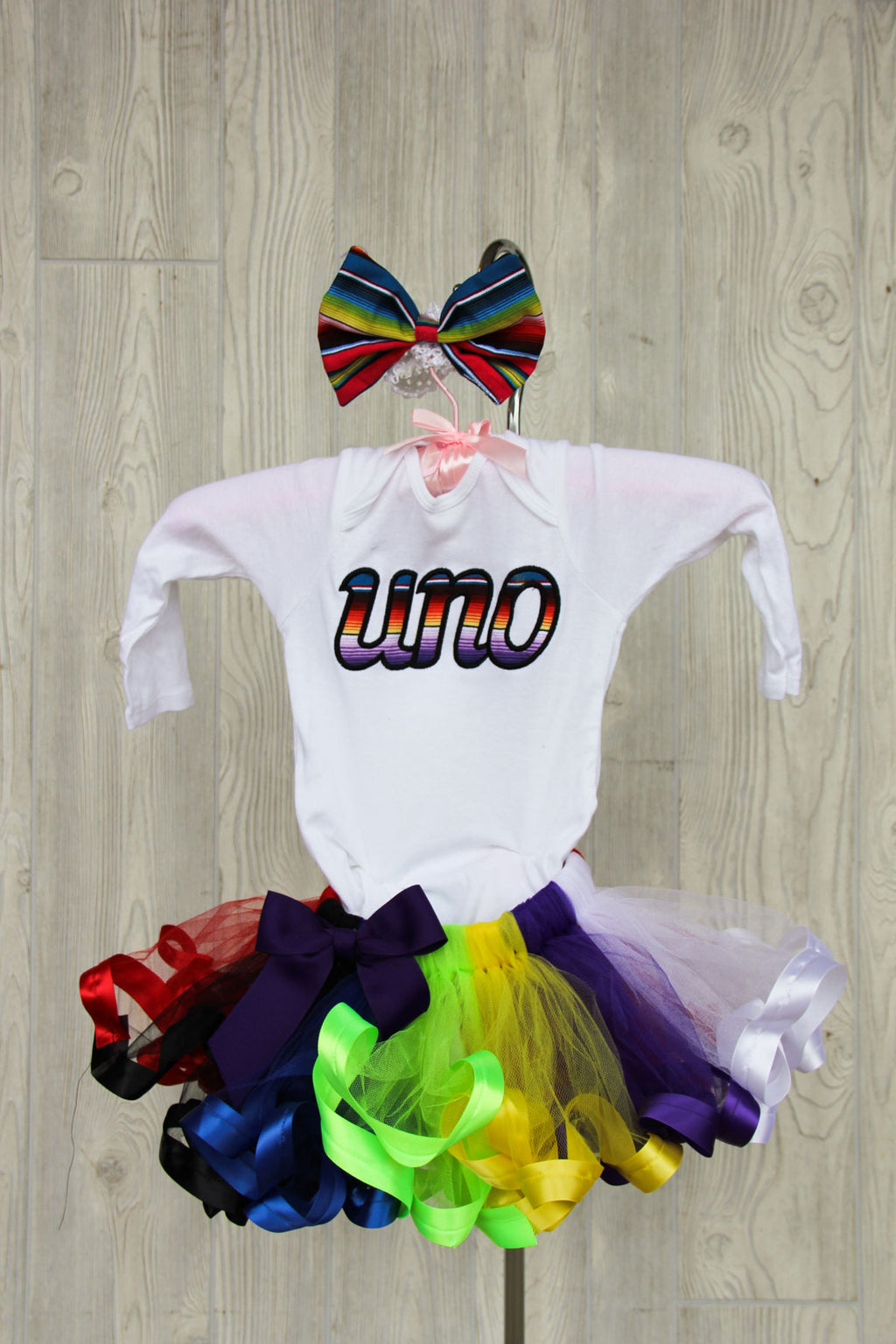 Uno Birthday Outfit - First Birthday Outfit