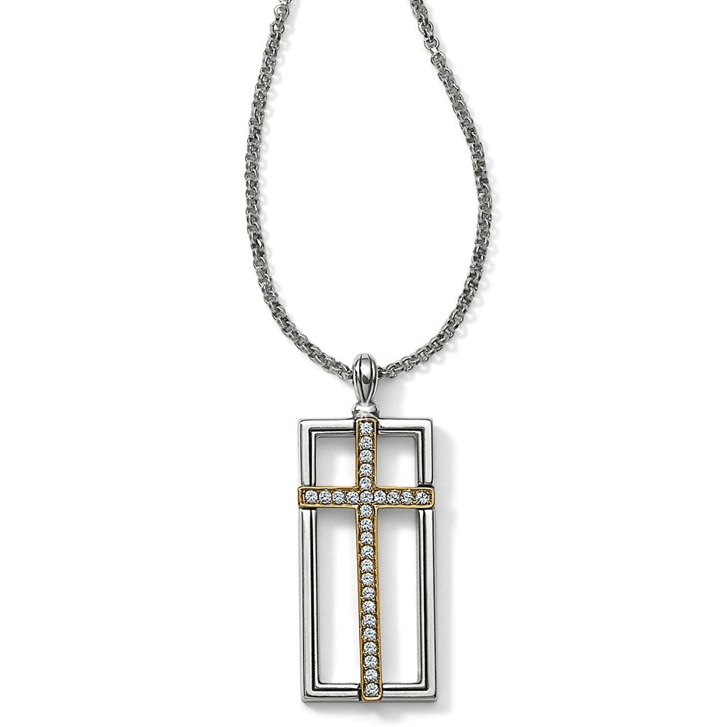 Brighton Collectibles Crosses of the World Holy Cross Necklace