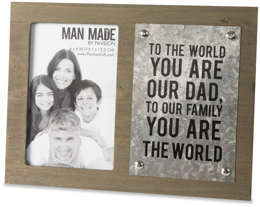 Dad Frame 4x6 Photo by Pavilion Gift