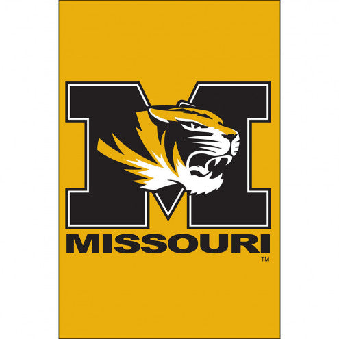 Applique University Of Missouri Tigers Garden Flag, 12.5 x 18 inches by Evergreen