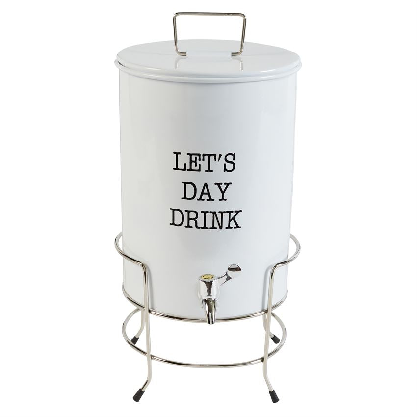 Mud Pie Let's Day Drink Dispenser Set