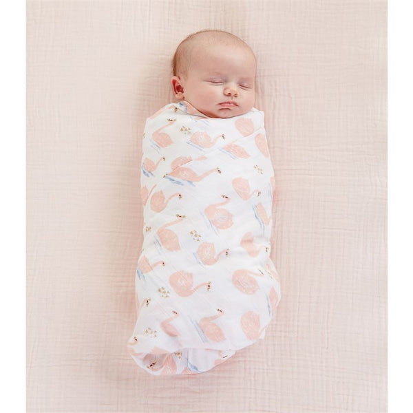 Muslin Swaddle Blanket by Mud Pie