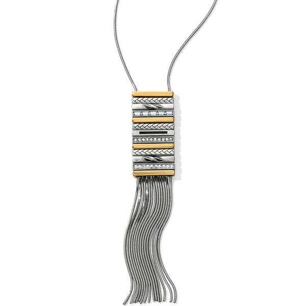 Brighton Collectibles Jewelry Tapestry Fringe Long Necklace