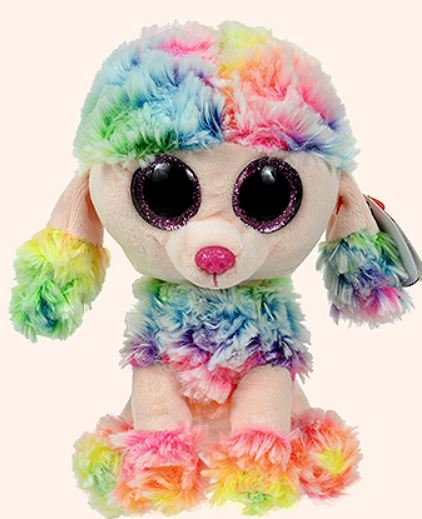Ty Beanie Boos Poodle Rainbow by Ty Inc La Boutique