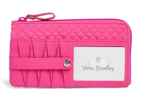 Iconic RFID Ultimate Card Case by Vera Bradley
