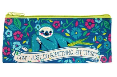 Recycled Brush Bag Sloth