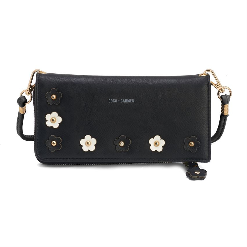 Coco + Carmen Flora Zip-Around Wallet