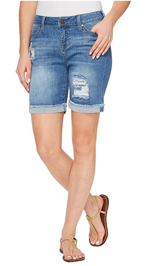 Liverpool Jeans Corine Walking Short Melbourne Destructed LM9026TT