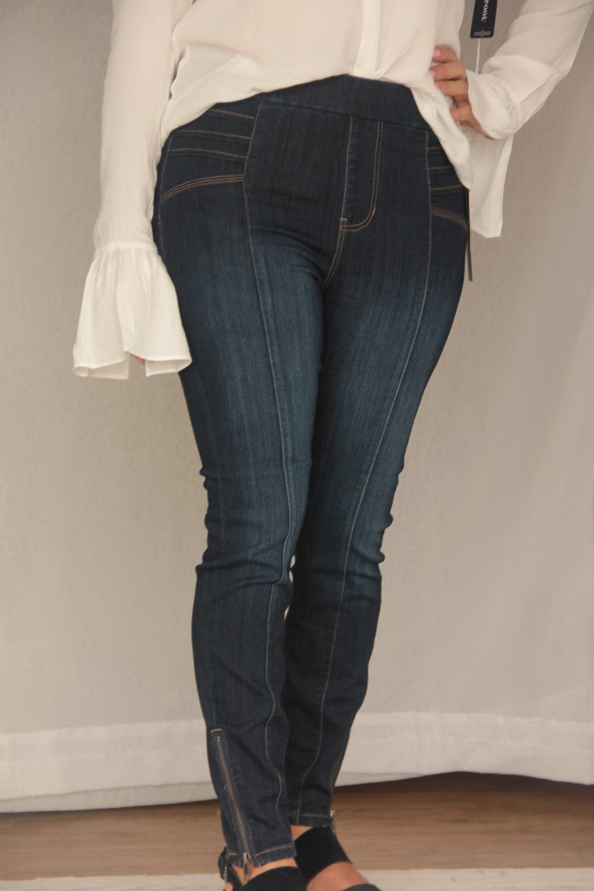 Liverpool Jeans Sienna Pull-On Seam Moto