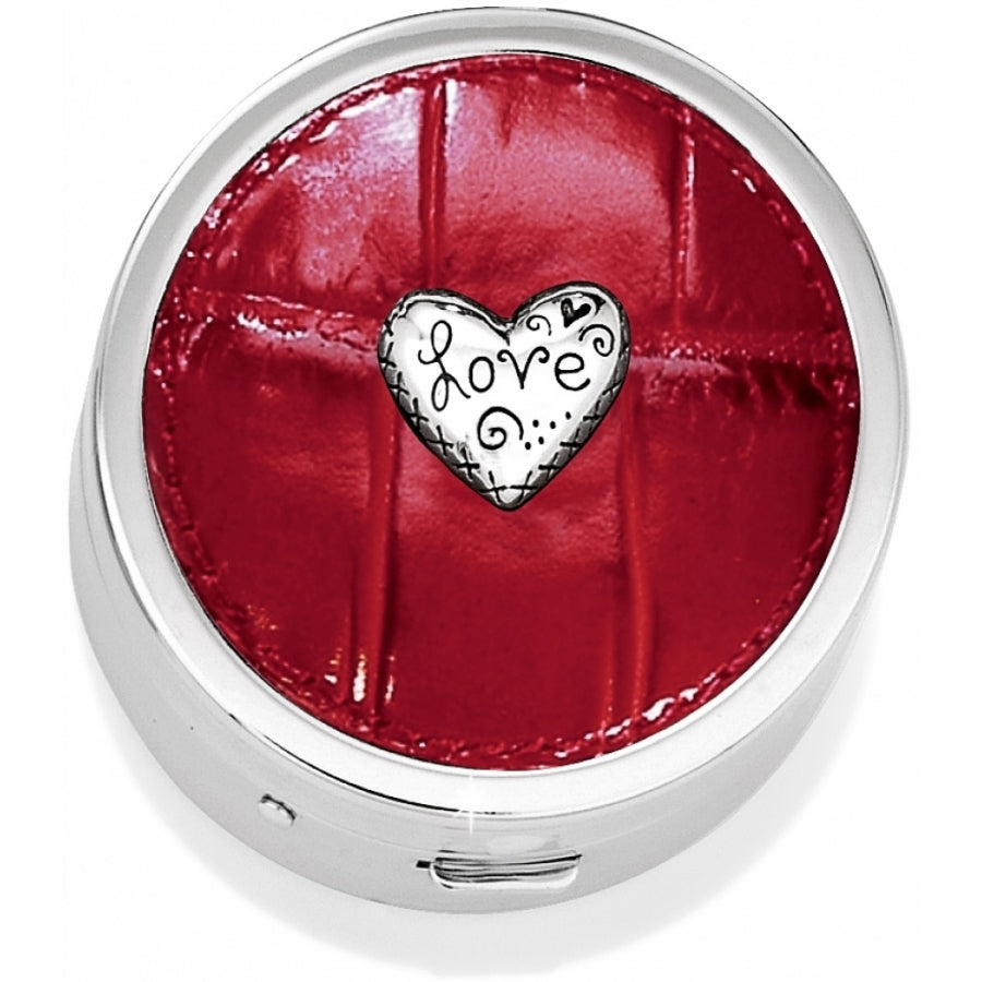 Brighton Collectibles Love Beat Pill Box E90937